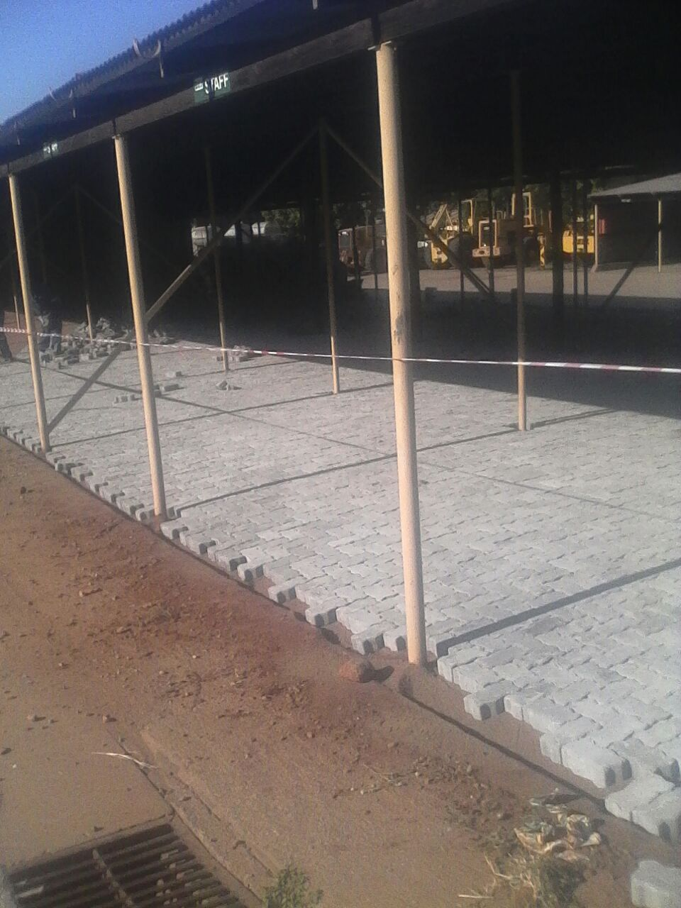 Contractor - Nkositlali Transport & Projects - Paving installation - Gutter installation - South Africa